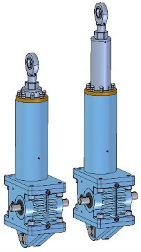 high performance electrocylinder