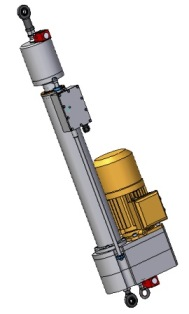 electrc cylinder parallel