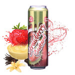 Fizzy - Strawberry Custard - 55 ml