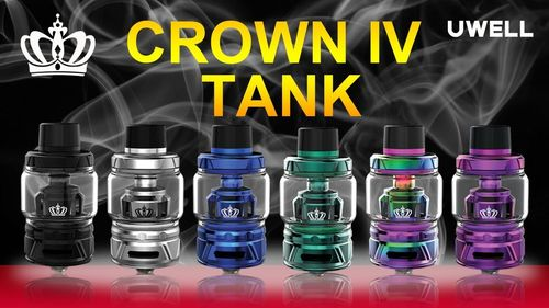 Uwell - Crown 4 - 6ml/5ml Verdampfer