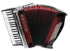 ZUPAN Juwel III 72/MH Tastenakkordeon mit Helikonbass (Shadow Red)